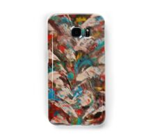 Multi-colored abstract Samsung Galaxy Case/Skin