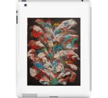 Multi-colored abstract iPad Case/Skin