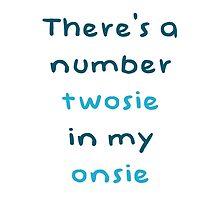 Baby grow twosie in my onsie by vinnie107