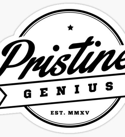 Pristine Genius - est. Sticker