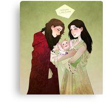 Best Friend Family Canvas Print