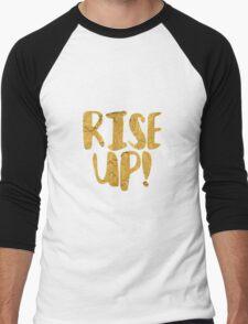 Rise Up! Men's Baseball ¾ T-Shirt