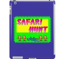 SAFARI HUNT - SEGA MASTER SYSTEM  iPad Case/Skin
