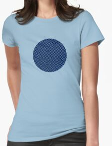 Black & Blue Womens Fitted T-Shirt