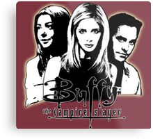A Trio of Scoobies (Willow, Buffy & Xander) Metal Print