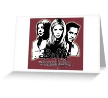 A Trio of Scoobies (Willow, Buffy & Xander) Greeting Card