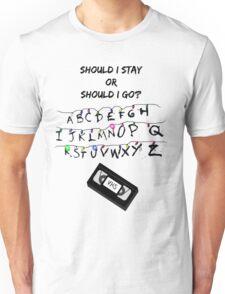 Stranger Things Wall Unisex T-Shirt