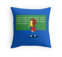 Time detention Throw Pillow
