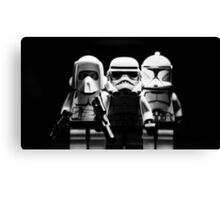 Lego Troopers Canvas Print