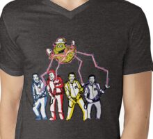 Wigglebusters Mens V-Neck T-Shirt