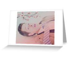 Pink: Castiel Greeting Card