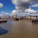 Bridlington Harbour by Sarah Couzens