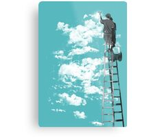 The Optimist Metal Print