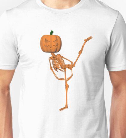 Halloween Ballet: Arabesque Unisex T-Shirt