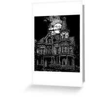 Haunted Victorian Greeting Card