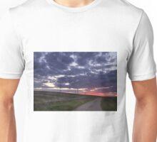 Sunset pylon Unisex T-Shirt