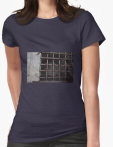 Cell window Womens Fitted T-Shirt