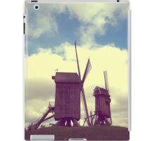Wind mills of Villeneuve d'Ascq iPad Case/Skin