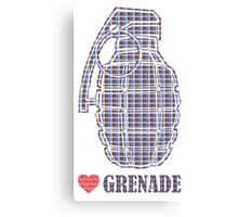 Love Grenade Canvas Print