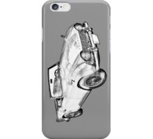 Illustration Of Triumph Tr4 Sports Car iPhone Case/Skin