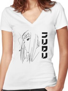 Fooly Cooly - Never Knows Best Women's Fitted V-Neck T-Shirt