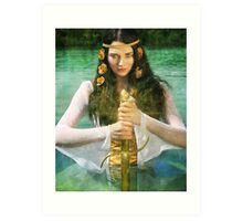Lady of the Lake Art Print