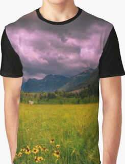 Meadow in the mountains  Graphic T-Shirt