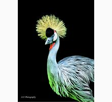 Grey Crowned Crane Unisex T-Shirt