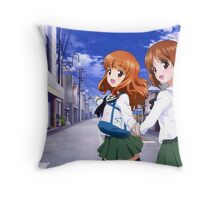 GIRLS und PANZER Throw Pillow