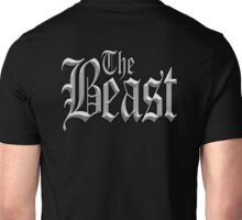 The Beast, Wild, Savage, Uncontrollable. Grey Unisex T-Shirt