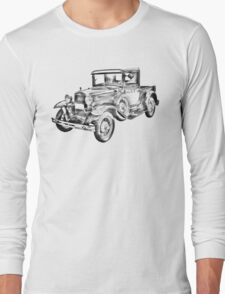 1930 Model A Ford Pickup Truck Illustration T-Shirt