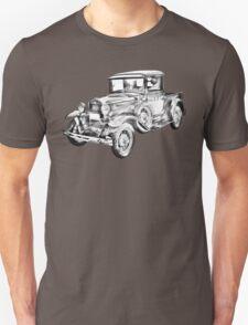 1930 Model A Ford Pickup Truck Illustration T-Shirt