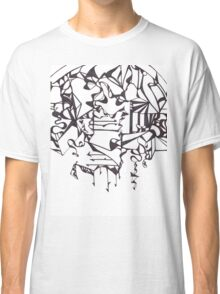 Psychedelic Twisted Lines Classic T-Shirt