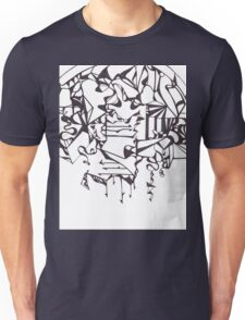 Psychedelic Twisted Lines Unisex T-Shirt