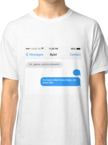 Dowager Texts: granny to Sybil Classic T-Shirt