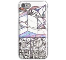 Multi Dimensional Psychedelic Mixed Media Design iPhone Case/Skin