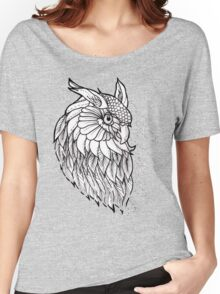 Owl Flash  Women's Relaxed Fit T-Shirt