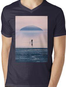 Heading to the Blue Island Mens V-Neck T-Shirt