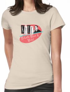 Kyle Roberts Blues & More 50s Vibe. Womens Fitted T-Shirt