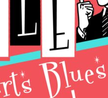Kyle Roberts Blues & More 50s Vibe. Sticker