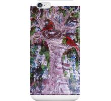 Abstract with birds iPhone Case/Skin