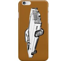 1975 Cadillac Eldorado Convertible Illustration iPhone Case/Skin