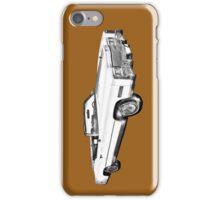 1975 Cadillac Eldorado Convertible Illustration iPhone Case/Skin