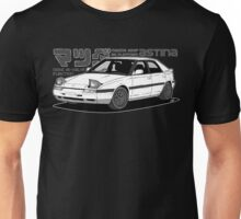 Mazda 323f BG MANGA BLACK Unisex T-Shirt
