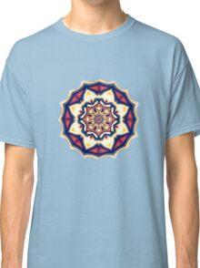 Mandala kaleidoscope geometric fractal symbol 1 Classic T-Shirt
