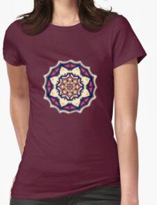 Mandala kaleidoscope geometric fractal symbol 1 T-Shirt