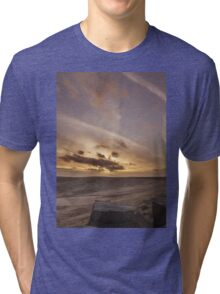 Buckstone edge sunset Tri-blend T-Shirt