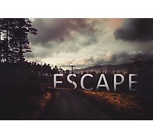 Escape Photographic Print