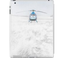 Blue Helicopter  iPad Case/Skin