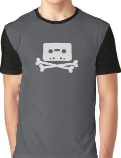 Home Taping Is Killing Music Logo Graphic T-Shirt